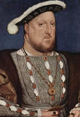 Первый портрет написанный мастером Голбайном и не одобренный королем, т.к. в нем он увидел больного несчастного человека.