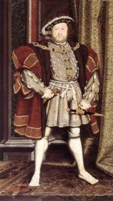 Переделанный мастером Голбайном портрет короля, который вдохновил его гораздо больше.