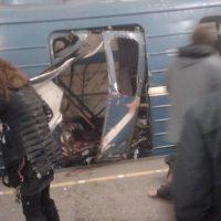 взрыв в метро Санкт-Петербург