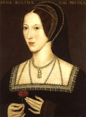 Вторая жена Анна Болейн. Коронованная королева Англии.